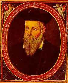 Nostradamus portrait by his son