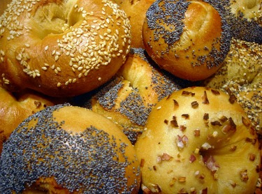 day old bagels are like short sales