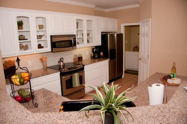 mini-model apartment staging