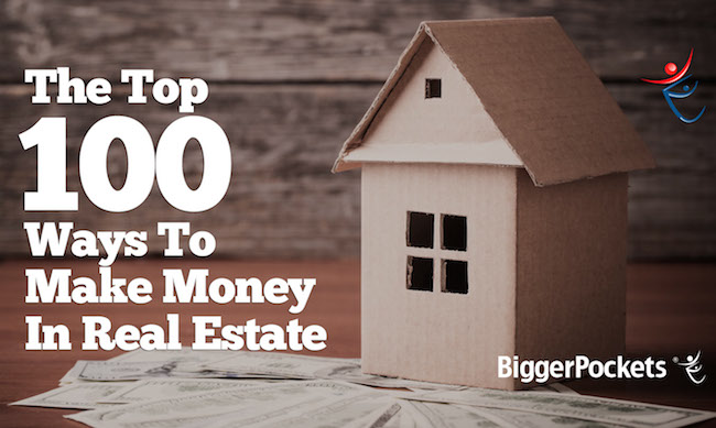 100 ways to make money with real estate