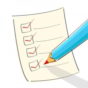Tenant Checklist