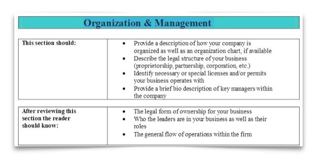 6 Organization