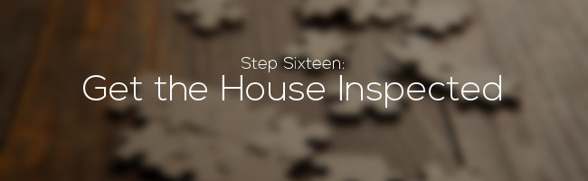 Get the House Inspected