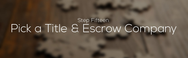Title and Escrow Company