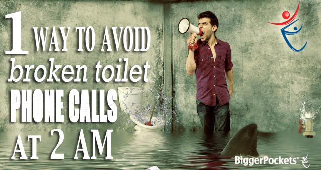Avoid Broken Toilet Calls