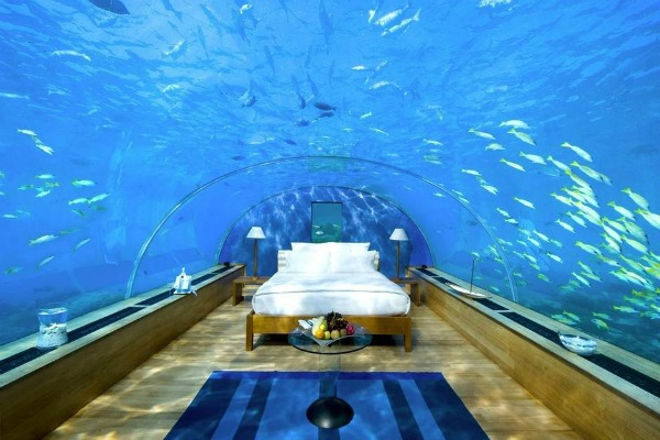 #2 underwater bedroom Maldives