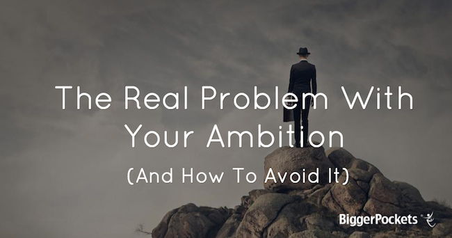 Problem with Ambition
