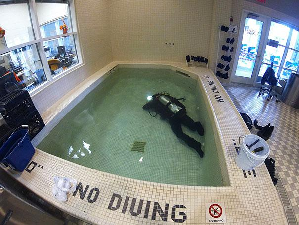 don't care diving