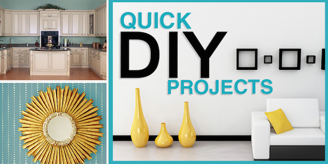 Easy DIY Home Projects Anyone Can Do to Save Money (Infographic)