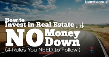 real estate no money down