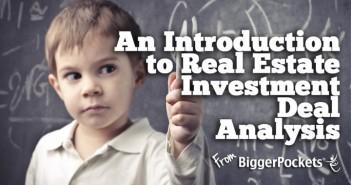 Real Estate Deal Analysis-1