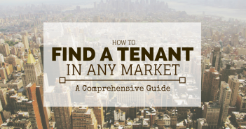 How to Find a Tenant