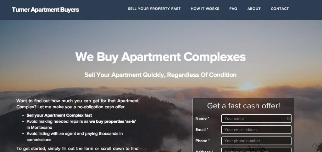 Real Estate Investor Website